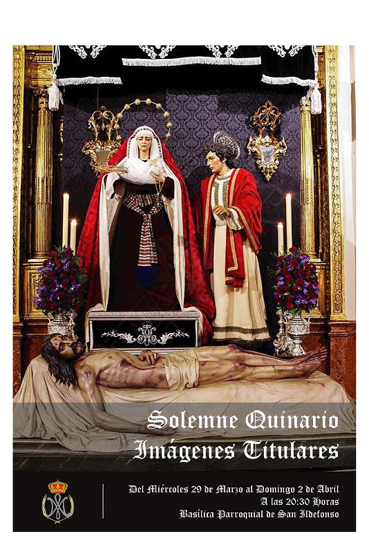 cartel cofrade 5 jesus pegalajar