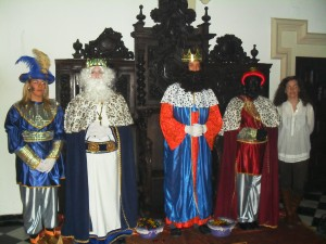SS.MM.Reyes Magos en Sacristía San Ildefonso